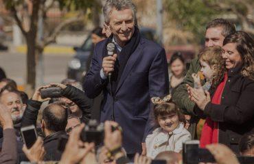 Mauricio Macri visitó Monte Cristo