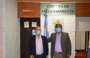 Oscar Saliba presente en el 152º Aniversario de Villa Sarmiento